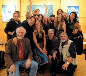 ausstellende und anwesende Künstler
