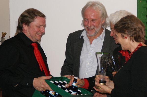Reinhard Schmid, Georg Bruckner, Lukás Kándl, Françoise Kándl