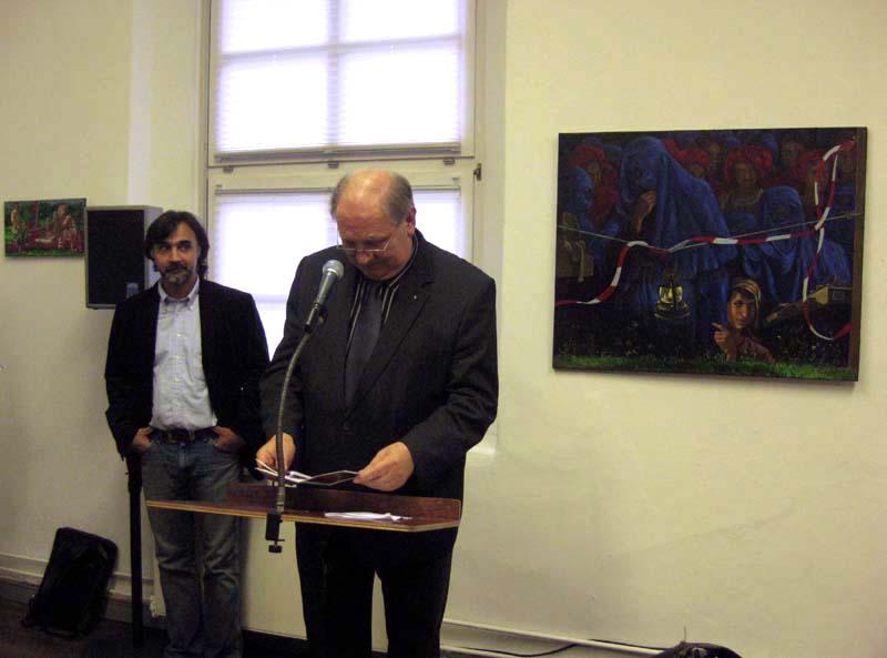 Kaikaoss und Reinhard Bruenjes