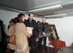 Siegerehrung mit Jolanda Richter und L. Giscard d'Estaing