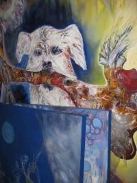 Atelierbesuch Irina Rosanowski