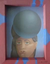 Kugel auf dem Kopf, Wolfgang Hutter, 2009