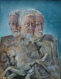 Peter Klitsch, Selbstporträt mal 3