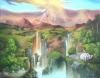 Wasserfall, Christine Hirschberg
