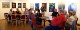 Vernissage Peter Hutter im Phantastenmuseum Wien