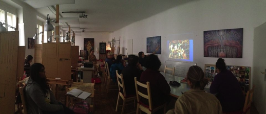 Open house in der Vienna Academy of Visionary Art (A)