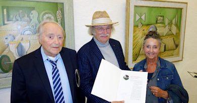 Herrenhof-Kunstpreis für Otfried H. Culmann (DE)